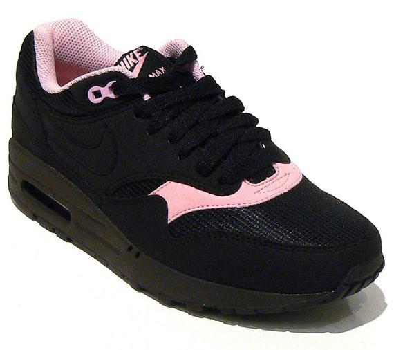 nike air max 1 black pink