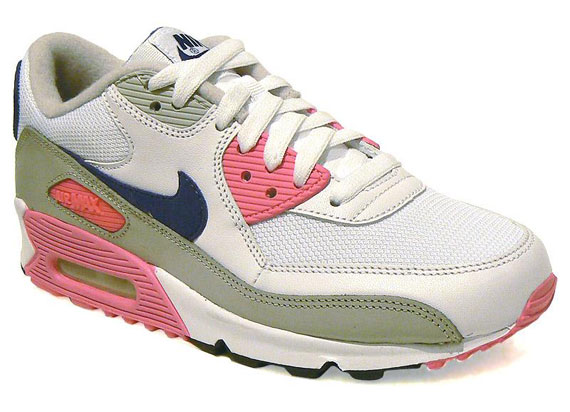 Nike WMNS Air Max 90 White Asian Concord Laser Pink 325213