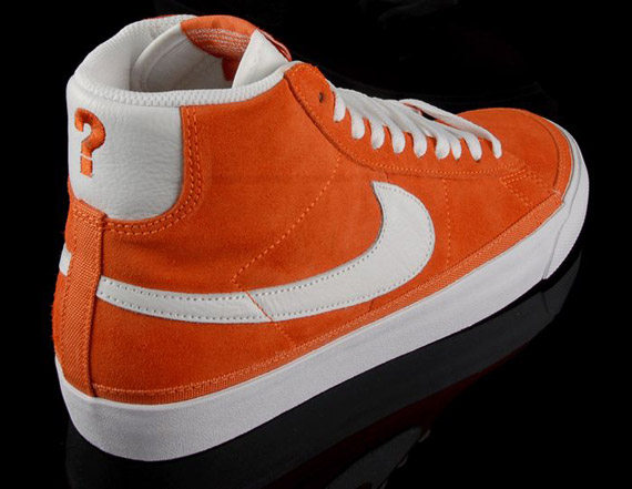 nike blazer orange