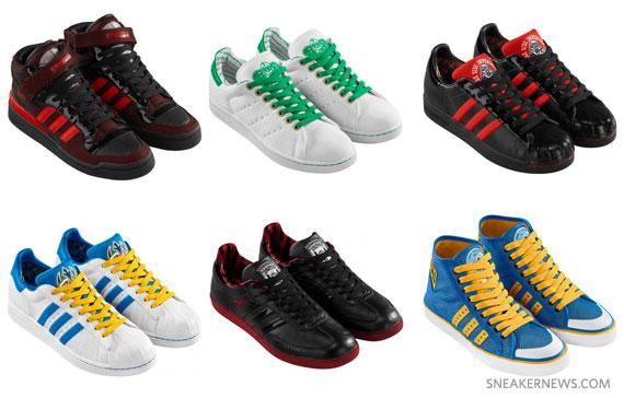 Star Wars x adidas Originals - Fall Winter 2010 Footwear ... 679bc6e3f0