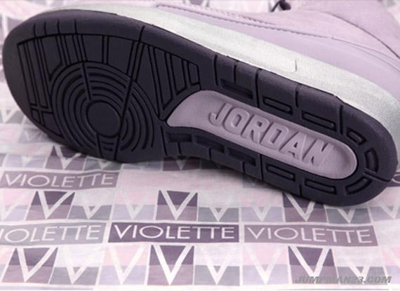 51448c9d6df768 Vashtie Kola x Air Jordan II (2) Retro - Lavender - Deep Purple ...