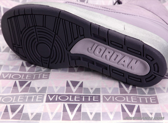 88cc4879f3a3 Vashtie Kola x Air Jordan II (2) Retro - Lavender - Deep Purple ...