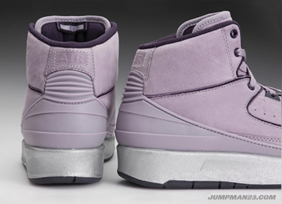 64e036066852b2 ... Vashtie Kola x Air Jordan II (2) Retro - Lavender - Deep Purple .