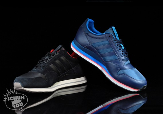 new styles 875a0 af0b0 adidas Originals ZX 500 - Leather Pack - SneakerNews.com