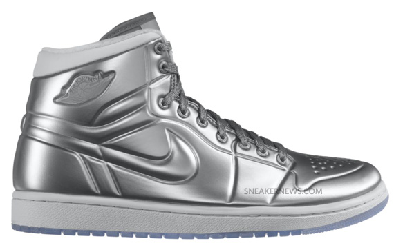 check out 89610 44233 Air Jordan 1 Anodized - Metallic Silver - White   Available ...