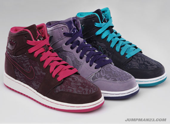 nike zéros de canal de dunk - Jordan Brand Girls Holiday 2010 Collection - SneakerNews.com