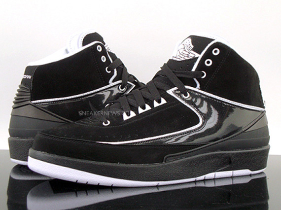 jordan 2 black and white