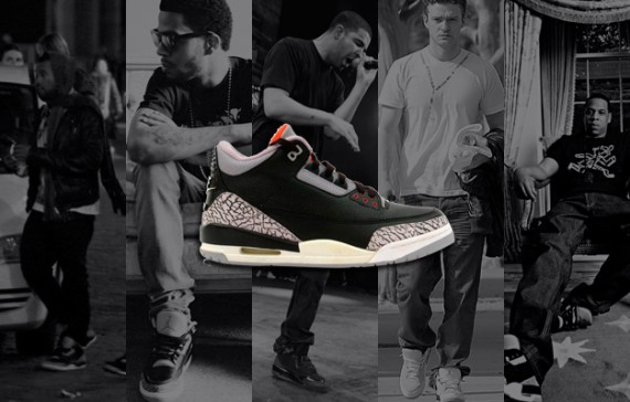 Air Jordan III Celebrity Moments in History Complex.com