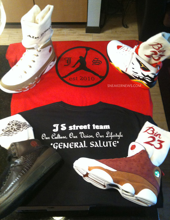 8d81215dd2e0c2 Air Jordan Retro Premio Bin 23 Collection - Group Images ...