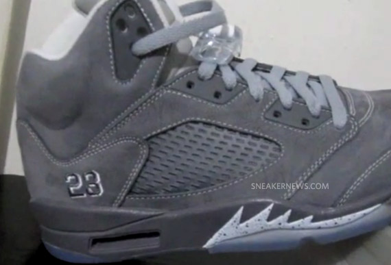 hot sales 50795 699c3 Advertisement. One of the most talked about Jordan Brand releases of 2011  is the all-new colorway of the Air Jordan V Retro in Light Graphite, Wolf  Grey ...