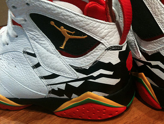 94c62977f74013 Air Jordan VII Retro Premio  Bin 23  – Detailed Images - SneakerNews.com