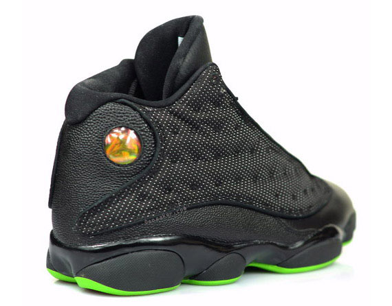 save off 22b84 10d00 Advertisement. BREAKING NEWS  Earlier this year Sneaker News confirmed the  re-release of the Air Jordan XIII (13) Retro in Black Altitude Green.