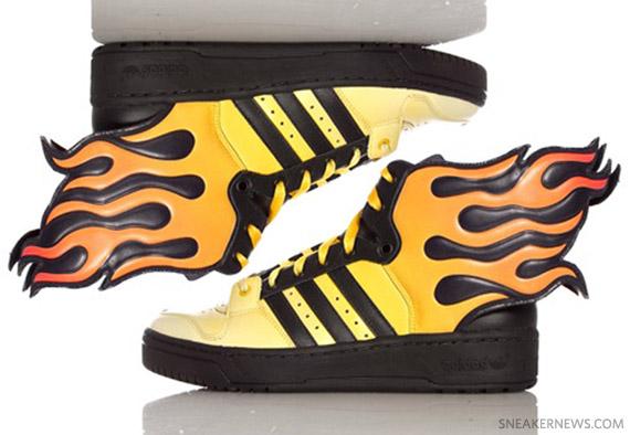 adidas jeremy scott wings 2.0 flames
