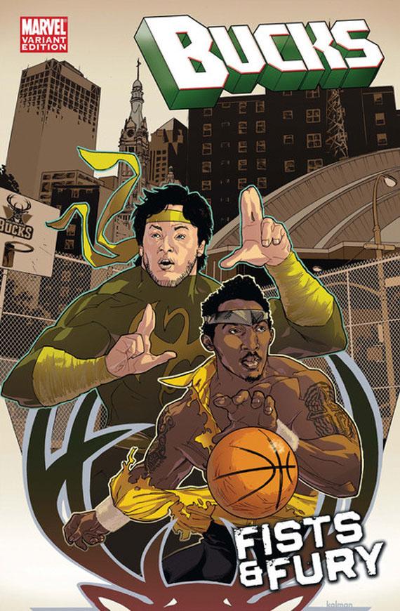ESPN x Marvel Comics - NBA Team Covers - SneakerNews com