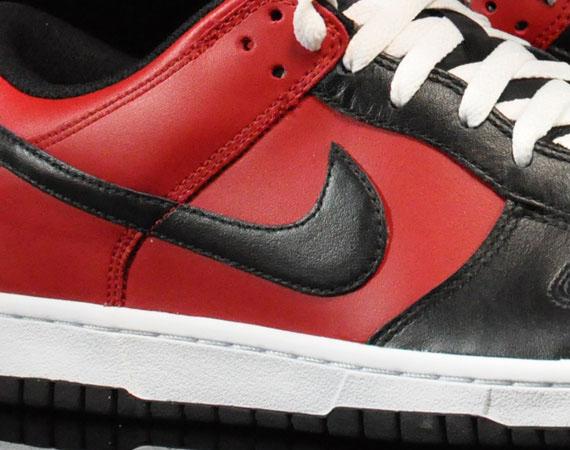on sale 2e62f 7e403 Nike Dunk Low - Black - Varsity Red - White - SneakerNews.com