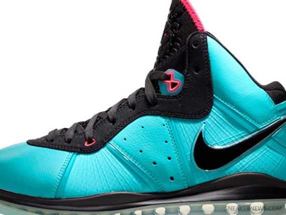11d482c1e8b Nike LeBron 8 'South Beach' - Release Reminder - SneakerNews.com