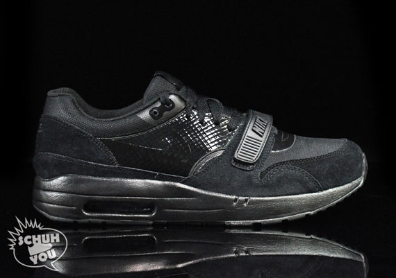 durable modeling Nike Air Maxim 1+ Trainer ND Black Pack Available