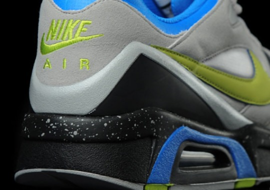 Nike Air Structure Triax  91 – Granite – Black – Green – Blue  a9755756a