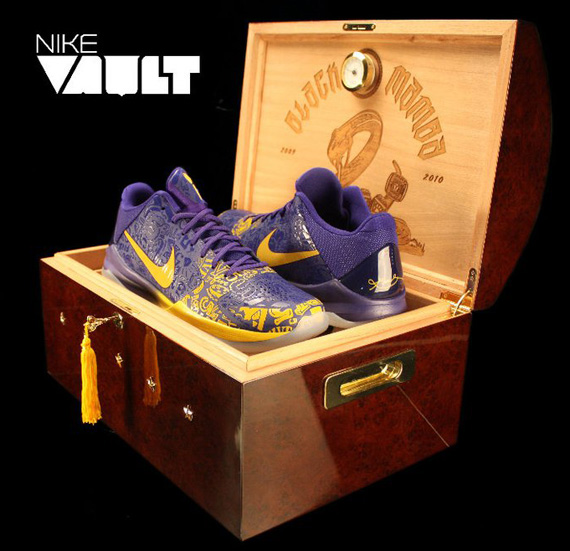 Nike Zoom Kobe V 5 Rings Limited Edition Humidor Box