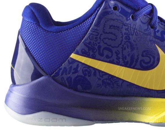 new product 7bb8d 97225 Nike Zoom Kobe V -  5 Rings    Release Reminder - SneakerNews.com