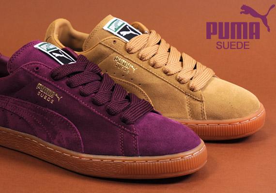 puma classic suede gum