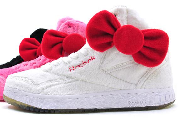 a0351f7dd2ee0e ... Hello Kitty x Reebok PT-20 INT Plush Kitty Pack - SneakerNew presenting  160b8 09959 ...
