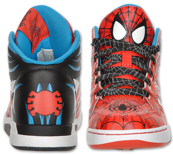 scarpe spiderman reebok