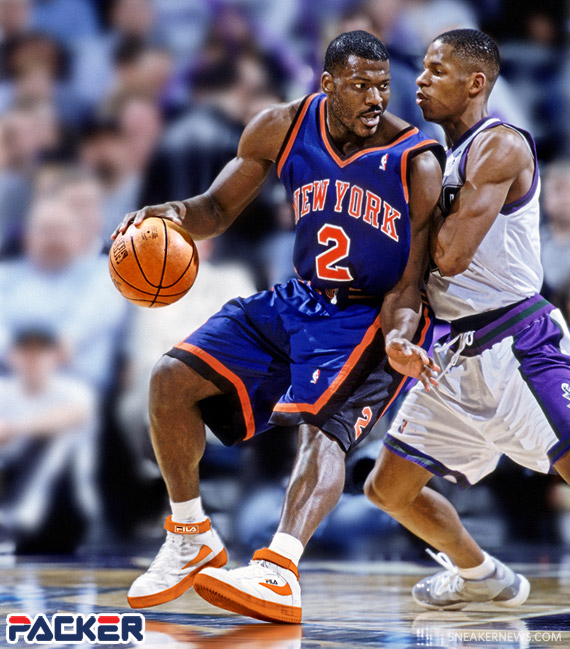 Sneaker News Goes 1 On 1 With Larry Johnson