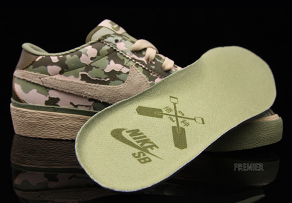 buy popular d3687 53a56 Advertisement. Bill Jordan s Realtree camouflage served as the centerpiece  for Nike SB s ...