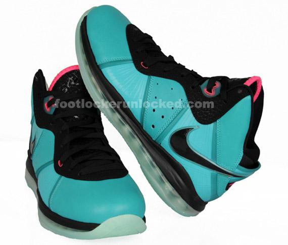 big sale 31d2f fc904 Nike LeBron 8  South Beach  GS - Release Info - SneakerNews.com