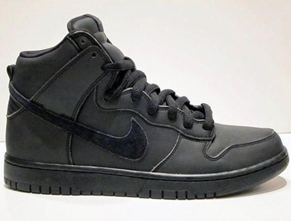 buy popular 7b8fd 7177b Nike SB Dunk High - Black Gore-Tex - SneakerNews.com