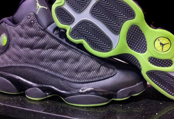best deals on 6f401 c3f7d 13 jordans black and green
