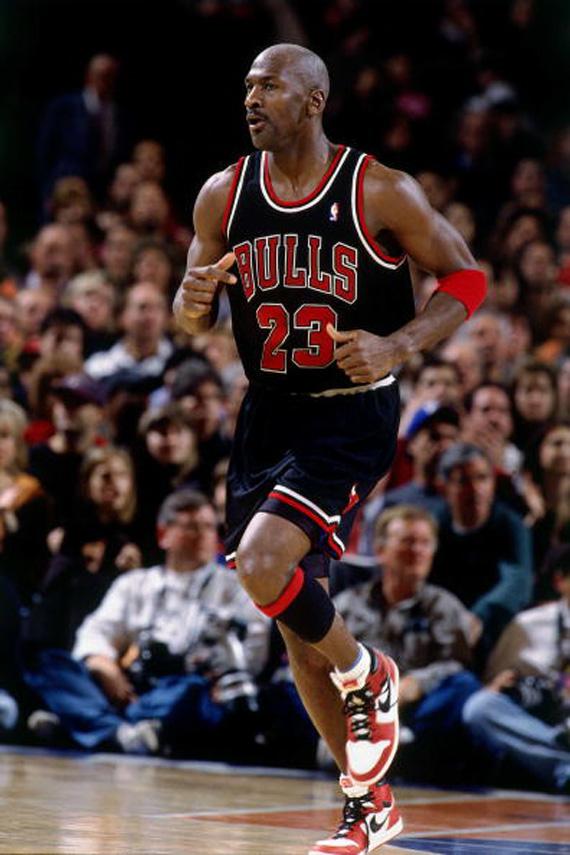 Michael Jordan Through The Years - Air Jordan 1 ...