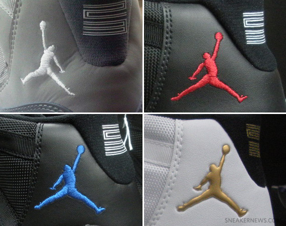 Air Jordan Xi Retro Cool Grey Reverse Jumpman Sneakernews