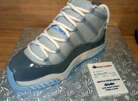 53593e01cbe Air Jordan XI  Cool Grey  Sneaker Cake - SneakerNews.com