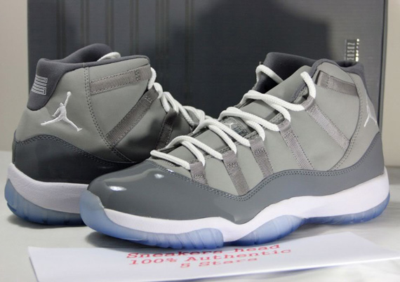 official photos a067d 90fed Air Jordan XI Cool Grey – Available on eBay - SneakerNews.com