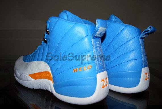 Air Jordan XII (12) – Carmelo Anthony Away PE  197a83c31e