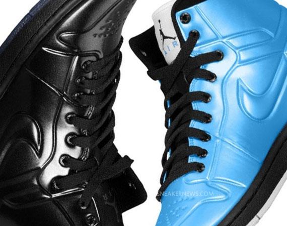 6528e8be57fa5 Air Jordan 1 Anodized - University Blue + Black
