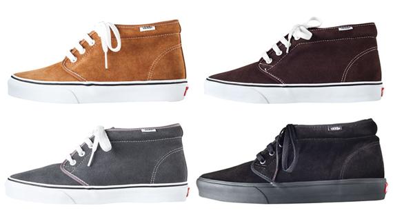 A.P.C. x Vans Chukka Boot - SneakerNews.com