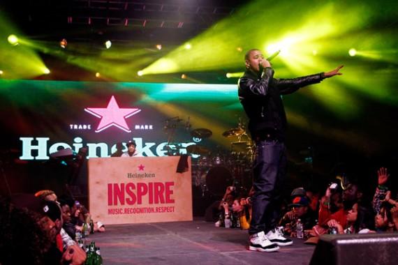 Celebrity Feet: J. Cole, Nas, & More – Heineken Inspire Encore New York Event