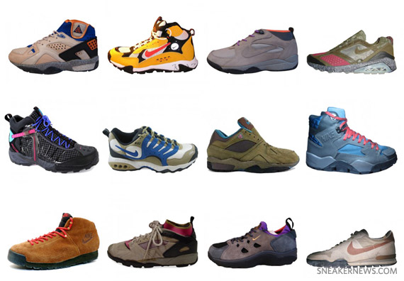 The 50 Greatest Nike Trail Shoes @