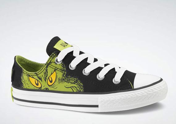 Dr. Seuss x Converse All Star – Grinch