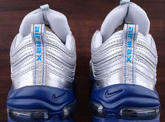 Nike Air Max 97 – Metallic Silver – Italy Blue – Deep Royal