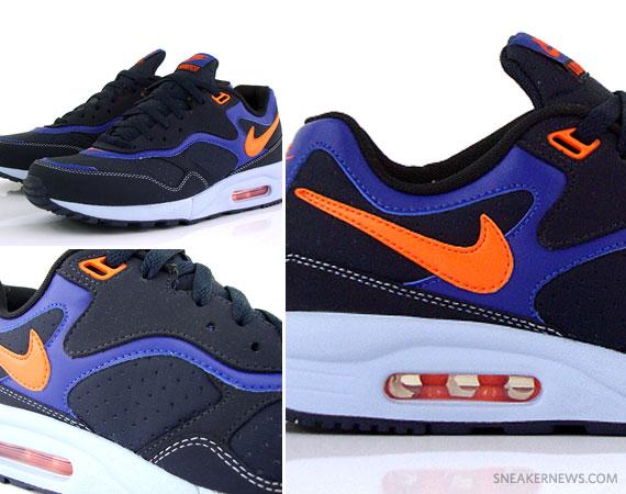 timeless design f385c 6c358 Nike Air Max Liquid Racer – Dark Obsidian – Orange Blaze – Deep Royal