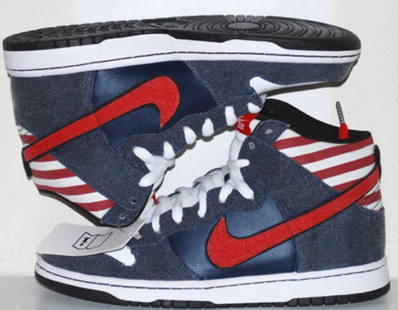 lower price with fa167 e0db7 ... coupon code for nike sb dunk high born in the usa sample version  sneakernews e05c8 bd965
