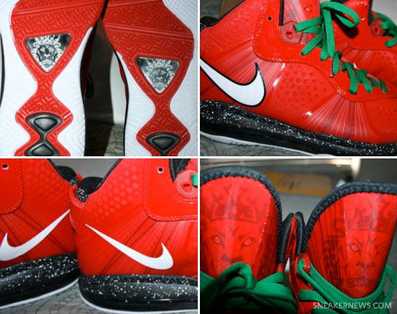 Nike LeBron 8 V2 'Christmas' – Sample
