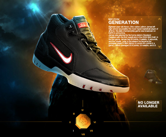 ad9727a4482 The History of Nike LeBron   Foot Locker - SneakerNews.com