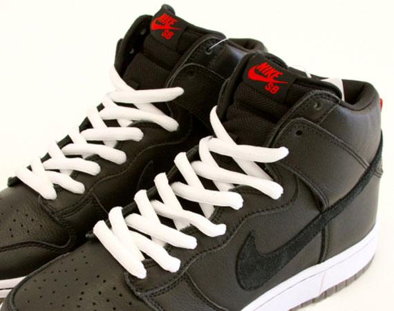 best loved 8ed05 baf1b Nike SB Dunk High – Black – White  Unreleased Sample on eBay