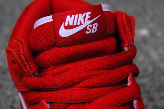 Nike Sb Dunk Mid Gomma Bianco Rosso dJlu7yz