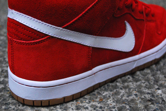 Nike Dunk Sb Mediados Roja nt8gG